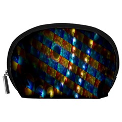 Fractal Digital Art Accessory Pouches (large)  by Nexatart