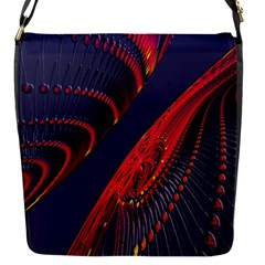 Fractal Fractal Art Digital Art Flap Messenger Bag (s) by Nexatart