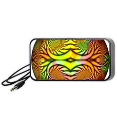 Fractals Ball About Abstract Portable Speaker (black)