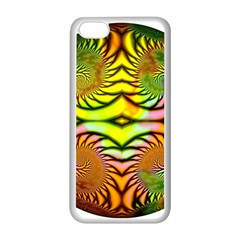 Fractals Ball About Abstract Apple Iphone 5c Seamless Case (white) by Nexatart