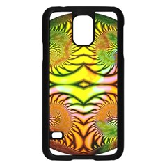 Fractals Ball About Abstract Samsung Galaxy S5 Case (black)