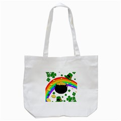 Good Luck Tote Bag (white) by Valentinaart