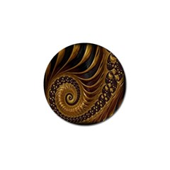 Fractal Spiral Endless Mathematics Golf Ball Marker (10 Pack) by Nexatart