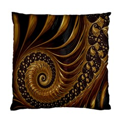 Fractal Spiral Endless Mathematics Standard Cushion Case (one Side) by Nexatart