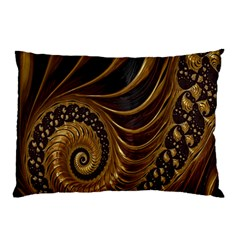 Fractal Spiral Endless Mathematics Pillow Case by Nexatart