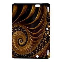 Fractal Spiral Endless Mathematics Kindle Fire HDX 8.9  Hardshell Case by Nexatart