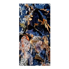 Frost Leaves Winter Park Morning Shower Curtain 36  X 72  (stall)  by Nexatart