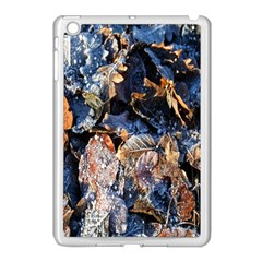 Frost Leaves Winter Park Morning Apple Ipad Mini Case (white)