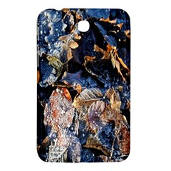 Frost Leaves Winter Park Morning Samsung Galaxy Tab 3 (7 ) P3200 Hardshell Case