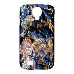 Frost Leaves Winter Park Morning Samsung Galaxy S4 Classic Hardshell Case (pc+silicone) by Nexatart
