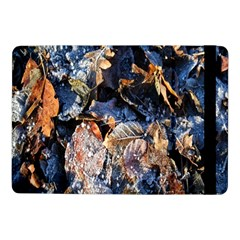 Frost Leaves Winter Park Morning Samsung Galaxy Tab Pro 10 1  Flip Case by Nexatart