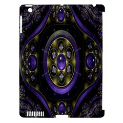 Fractal Sparkling Purple Abstract Apple Ipad 3/4 Hardshell Case (compatible With Smart Cover)