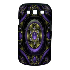 Fractal Sparkling Purple Abstract Samsung Galaxy S Iii Classic Hardshell Case (pc+silicone) by Nexatart