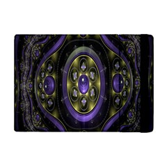 Fractal Sparkling Purple Abstract Ipad Mini 2 Flip Cases