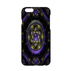 Fractal Sparkling Purple Abstract Apple Iphone 6/6s Hardshell Case by Nexatart