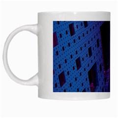 Fractals Geometry Graphic White Mugs by Nexatart