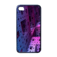 Fractals Geometry Graphic Apple Iphone 4 Case (black)