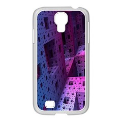 Fractals Geometry Graphic Samsung Galaxy S4 I9500/ I9505 Case (white)