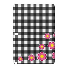 Floral Plaid Pattern Samsung Galaxy Tab Pro 12 2 Hardshell Case by Valentinaart