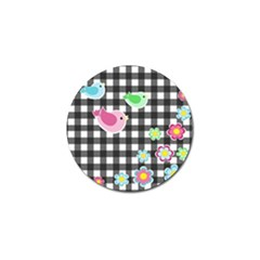 Cute Spring Pattern Golf Ball Marker (4 Pack) by Valentinaart