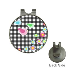 Cute Spring Pattern Hat Clips With Golf Markers by Valentinaart