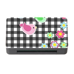 Cute Spring Pattern Memory Card Reader With Cf by Valentinaart