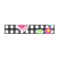 Cute Spring Pattern Flano Scarf (mini) by Valentinaart