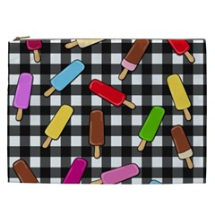 Ice Cream Kingdom  Cosmetic Bag (xxl)  by Valentinaart