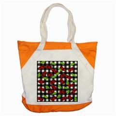 Cherry Kingdom  Accent Tote Bag by Valentinaart