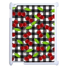 Cherry Kingdom  Apple Ipad 2 Case (white) by Valentinaart