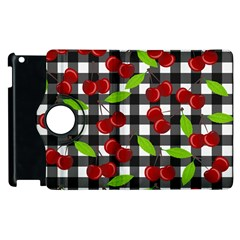 Cherry Kingdom  Apple Ipad 3/4 Flip 360 Case by Valentinaart