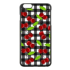 Cherry Kingdom  Apple Iphone 6 Plus/6s Plus Black Enamel Case by Valentinaart