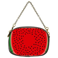 Watermelon Chain Purses (two Sides)  by Valentinaart