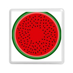 Watermelon Memory Card Reader (square)  by Valentinaart