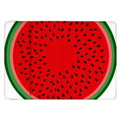 Watermelon Samsung Galaxy Tab 8 9  P7300 Flip Case by Valentinaart