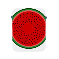 Watermelon Apple Ipad 2/3/4 Protective Soft Cases by Valentinaart