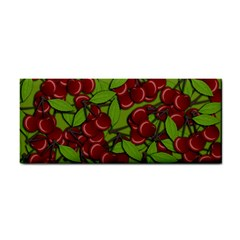 Cherry Jammy Pattern Cosmetic Storage Cases by Valentinaart