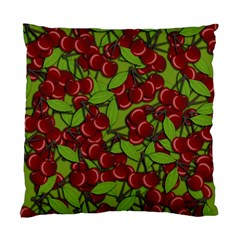 Cherry Jammy Pattern Standard Cushion Case (one Side) by Valentinaart