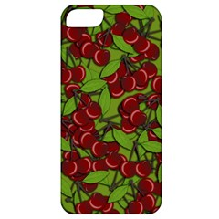 Cherry Jammy Pattern Apple Iphone 5 Classic Hardshell Case by Valentinaart