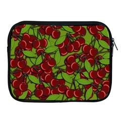 Cherry Jammy Pattern Apple Ipad 2/3/4 Zipper Cases by Valentinaart