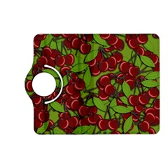 Cherry Jammy Pattern Kindle Fire Hd (2013) Flip 360 Case by Valentinaart