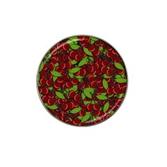 Cherry Pattern Hat Clip Ball Marker (4 Pack) by Valentinaart