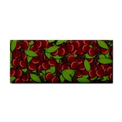 Cherry Pattern Cosmetic Storage Cases by Valentinaart
