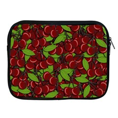 Cherry Pattern Apple Ipad 2/3/4 Zipper Cases by Valentinaart