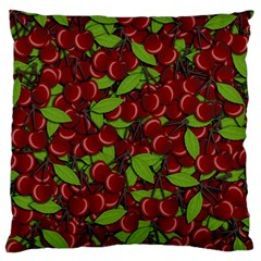 Cherry Pattern Standard Flano Cushion Case (one Side) by Valentinaart