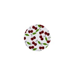 Cherry Pattern 1  Mini Buttons by Valentinaart