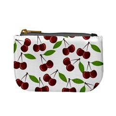 Cherry Pattern Mini Coin Purses by Valentinaart