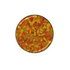 Orange Autumn Hat Clip Ball Marker (4 Pack) by Valentinaart