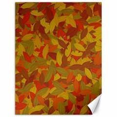 Orange Autumn Canvas 18  X 24   by Valentinaart
