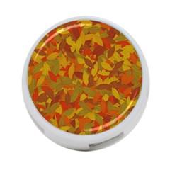 Orange Autumn 4 Port Usb Hub (two Sides)  by Valentinaart